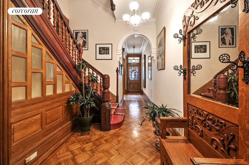Parlor Floor Entry Foyer