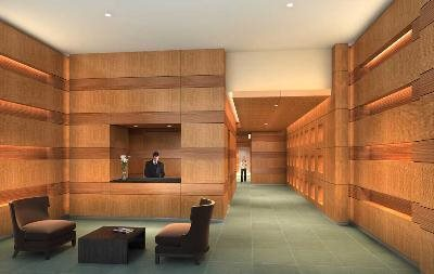 New York City Real Estate | View 11 East 29th Street, #34B | Attended Lobby at The Sky House