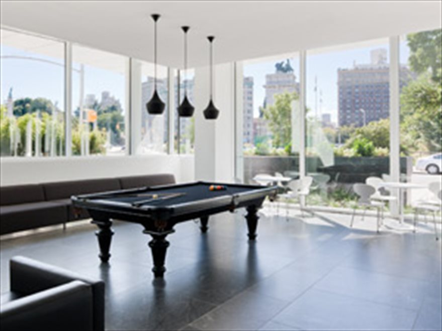 New York City Real Estate | View 1 Grand Army Plaza, #4A | Billiards Room