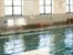 Indoor pool in health club