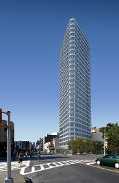 sleek, 30-story, 108 unit icon above fort greene