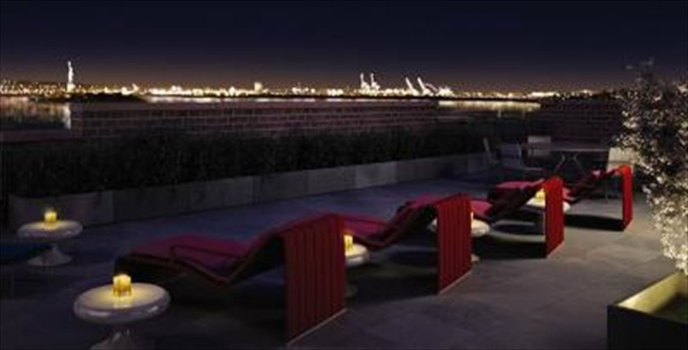 New York City Real Estate | View 225 RECTOR PLACE, #7s | Roof Deck