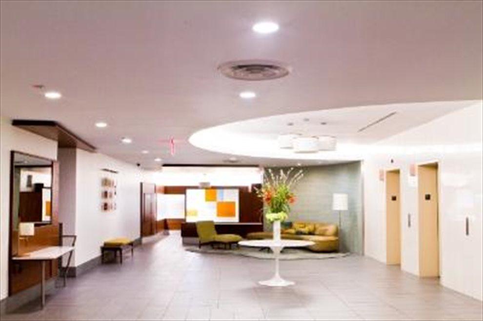 Renovated Mid Century Lobby