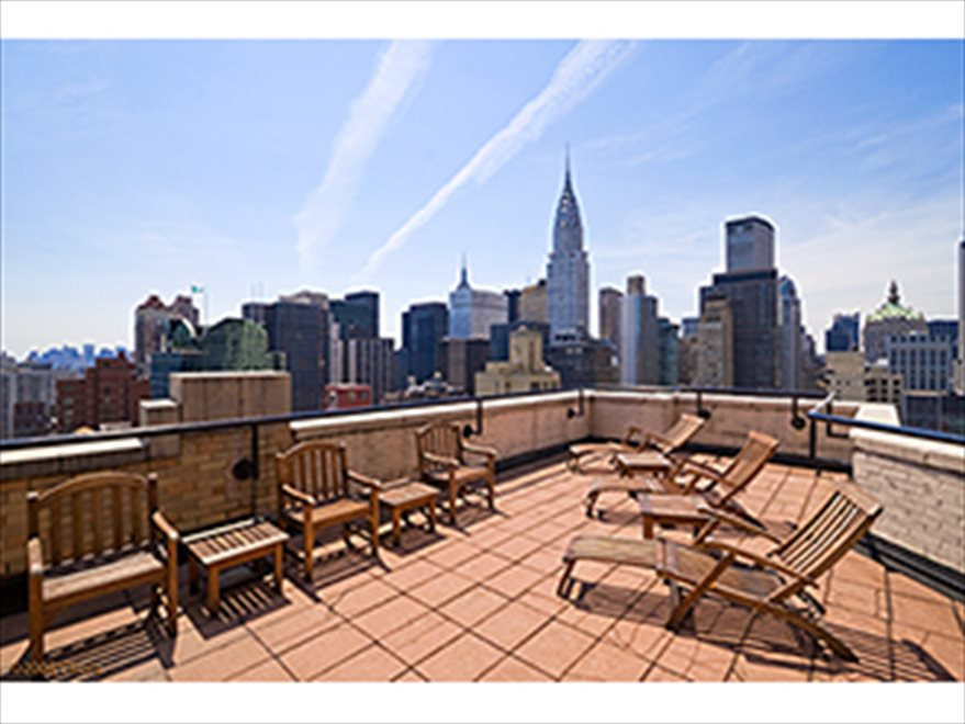 Great Views From the Common Roof Deck