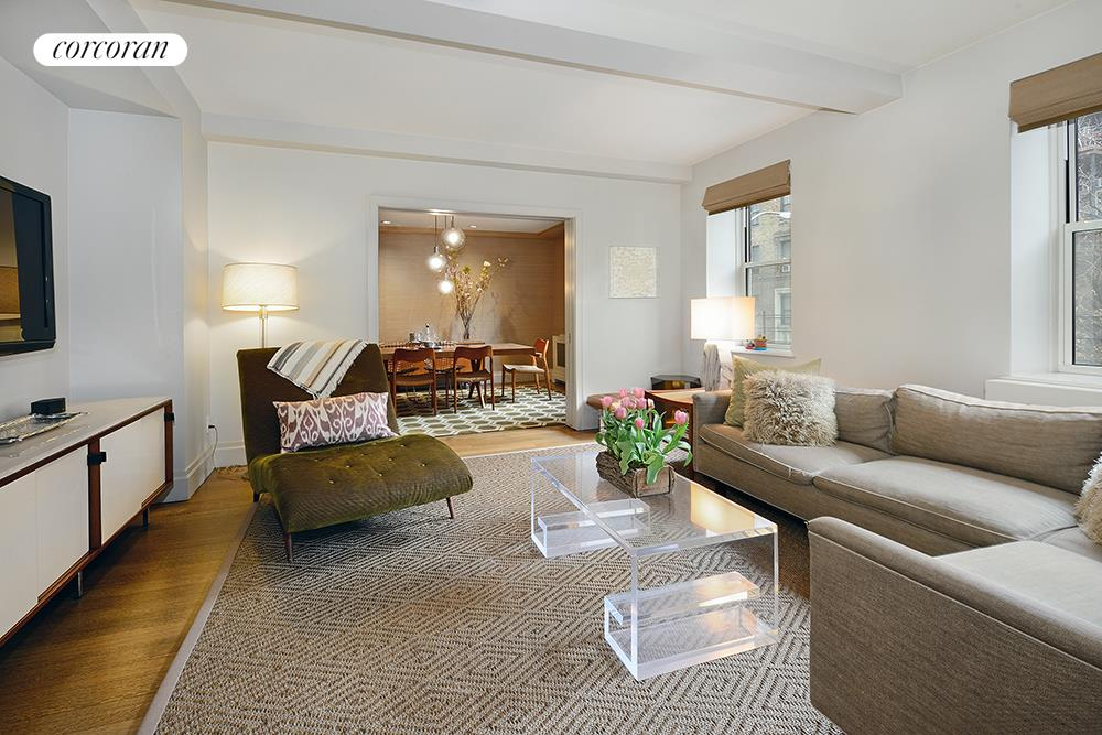 170 West 76th Street, 302, Living Room
