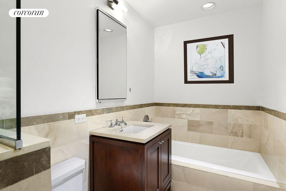Marble Bath w/ Separate Tub