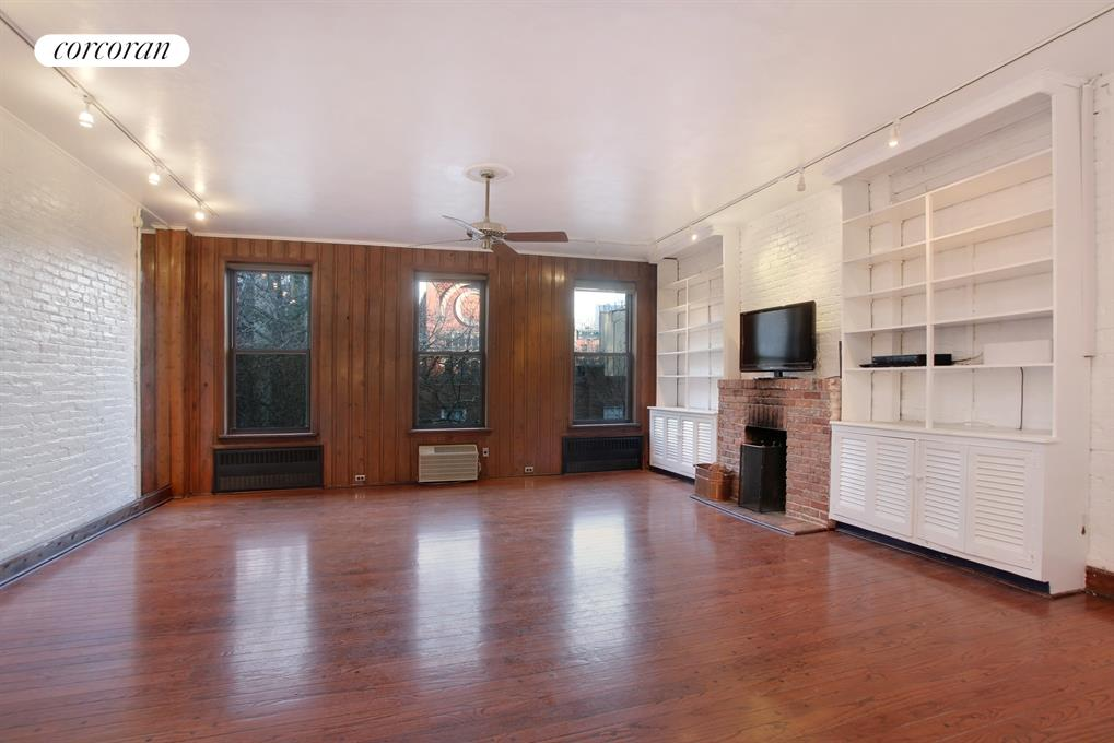 449 West 50th Street, 2, Living Room