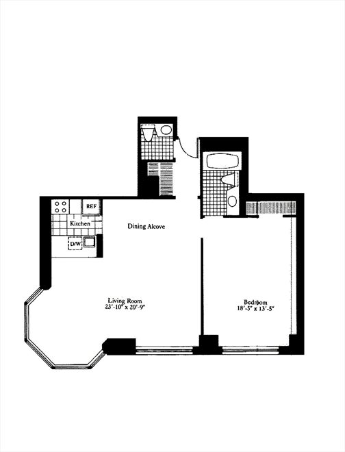 New York City Real Estate | View 200 East 65th Street, #17C | Floorplan