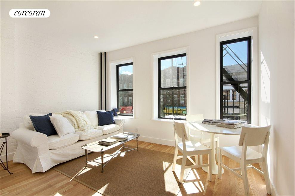 New York City Real Estate | View 851 Franklin Avenue, #2A | 1 Bath