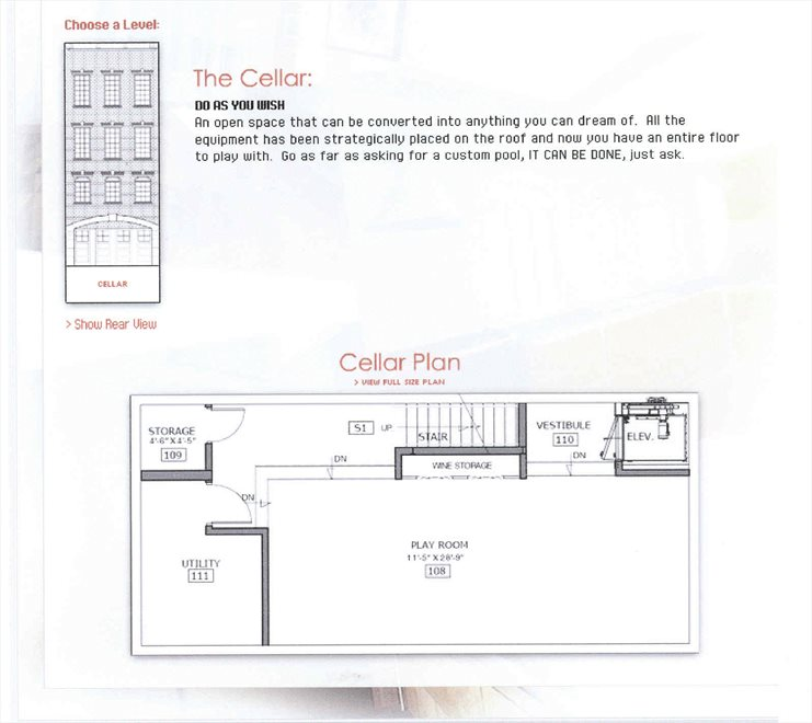 New York City Real Estate | View 453 Second Avenue | Floorplan 1