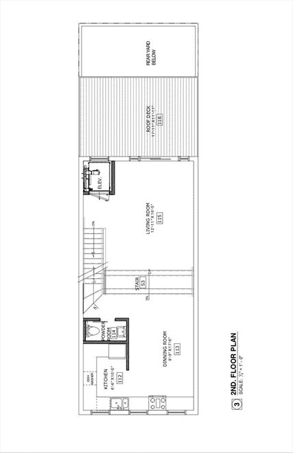 New York City Real Estate | View 453 Second Avenue | Floorplan 3