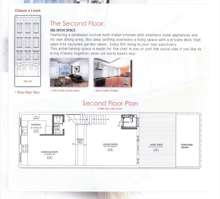New York City Real Estate | View 453 Second Avenue | Floorplan 4