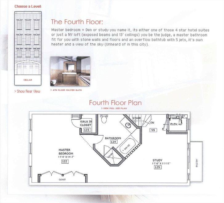 New York City Real Estate | View 453 Second Avenue | Floorplan 6
