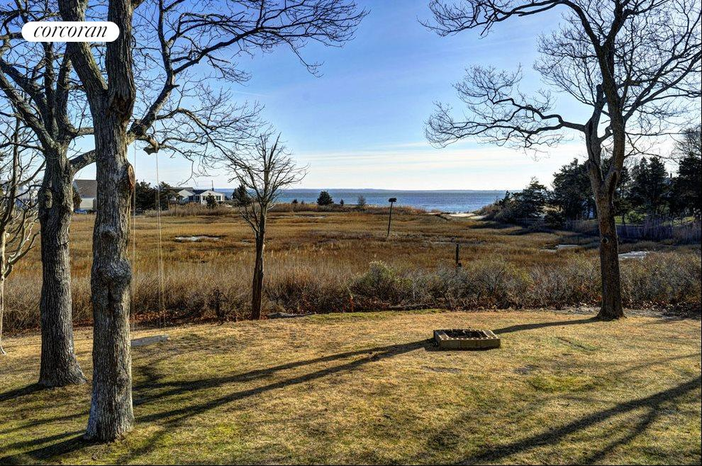 The Hamptons Real Estate | View 1503 Peconic Bay Blvd | Backyard