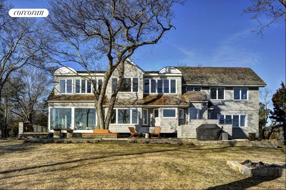 The Hamptons Real Estate | View 1503 Peconic Bay Blvd | Rear View