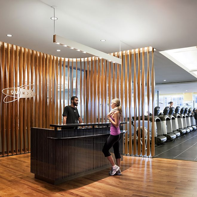 Exclusive residents-only fitness club by Equinox®.