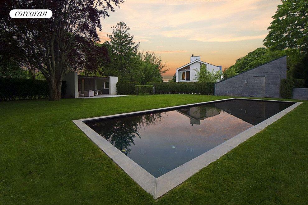 heated gunite pool