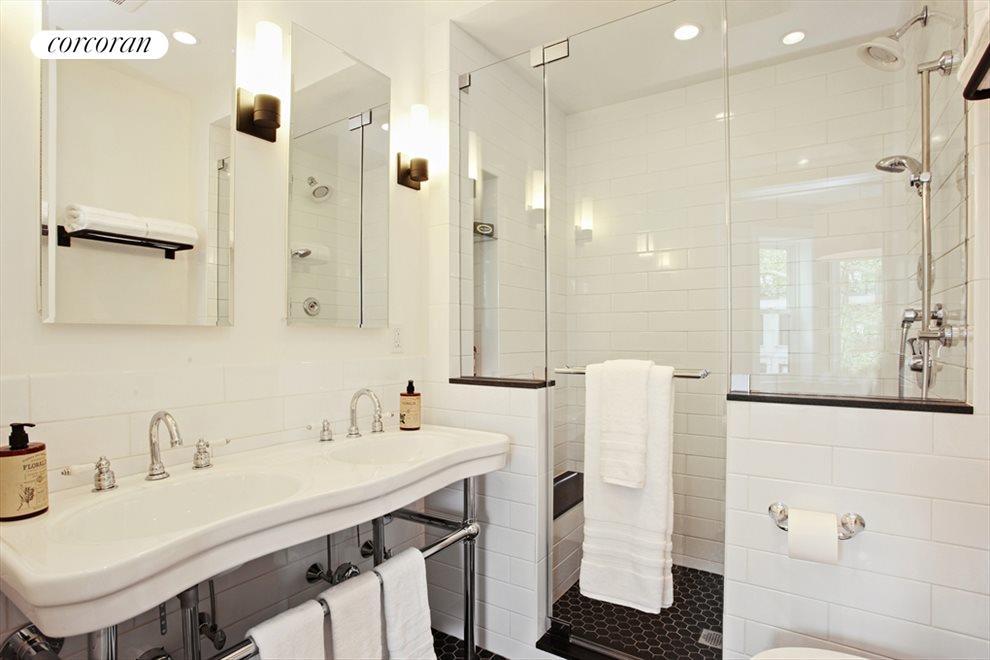 New Master Bathroom with Huge Walk-in-Shower