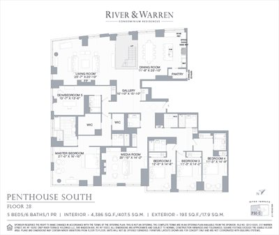 New York City Real Estate | View 212 Warren Street, Phs | Floorplan 1