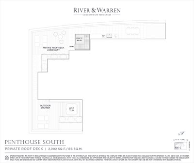 New York City Real Estate | View 212 Warren Street, Phs | Floorplan 2