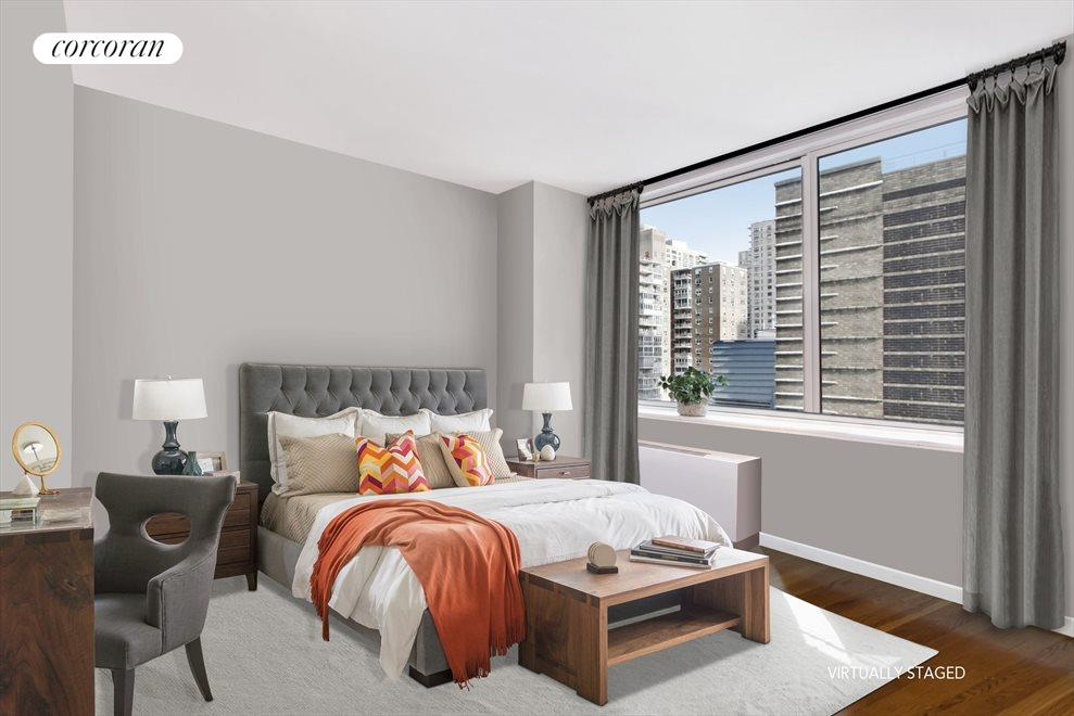 New York City Real Estate | View 120 Riverside Blvd, #11M | 1 Bed, 1 Bath