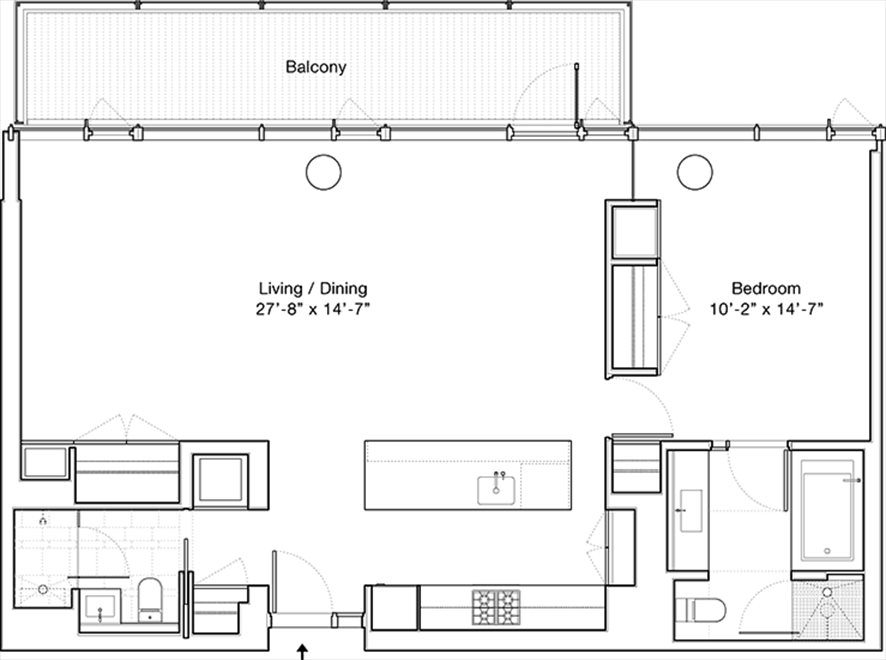 New York City Real Estate | View 1 Grand Army Plaza, #4A | Floorplan