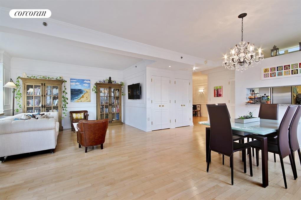 1760 Second Avenue, 28C, Living Room / Dining Room