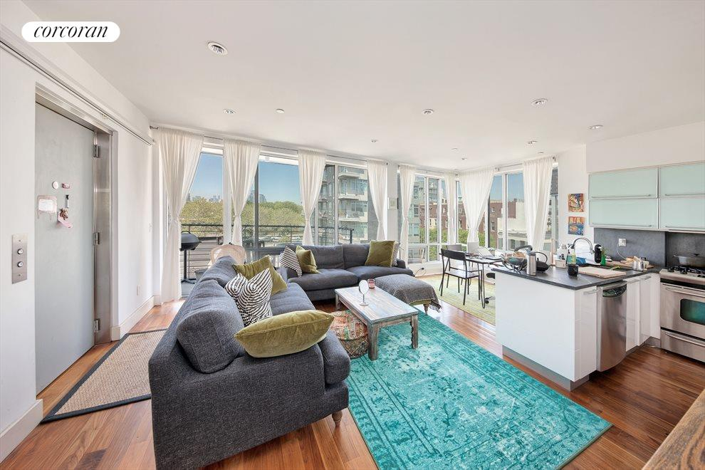 New York City Real Estate | View 34 Eckford Street, #4A | 2 Beds, 2 Baths