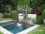 Sag Harbor, Heated plunge pool also acts as soothing water feature