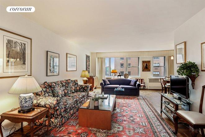 Living Room 86 Street corcoran, 525 east 86th street, apt. 11g, upper east side real