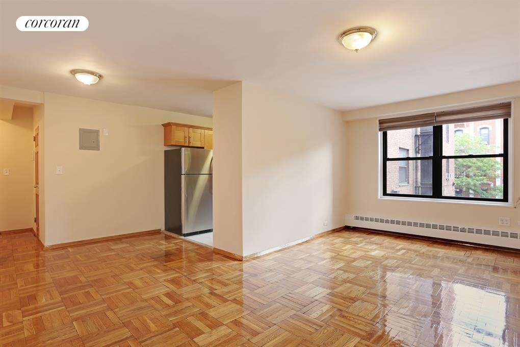 165 Clinton Avenue, 2A, Living Room / Dining Room