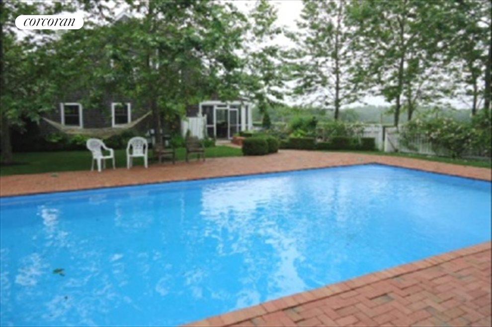 Pool tucked away