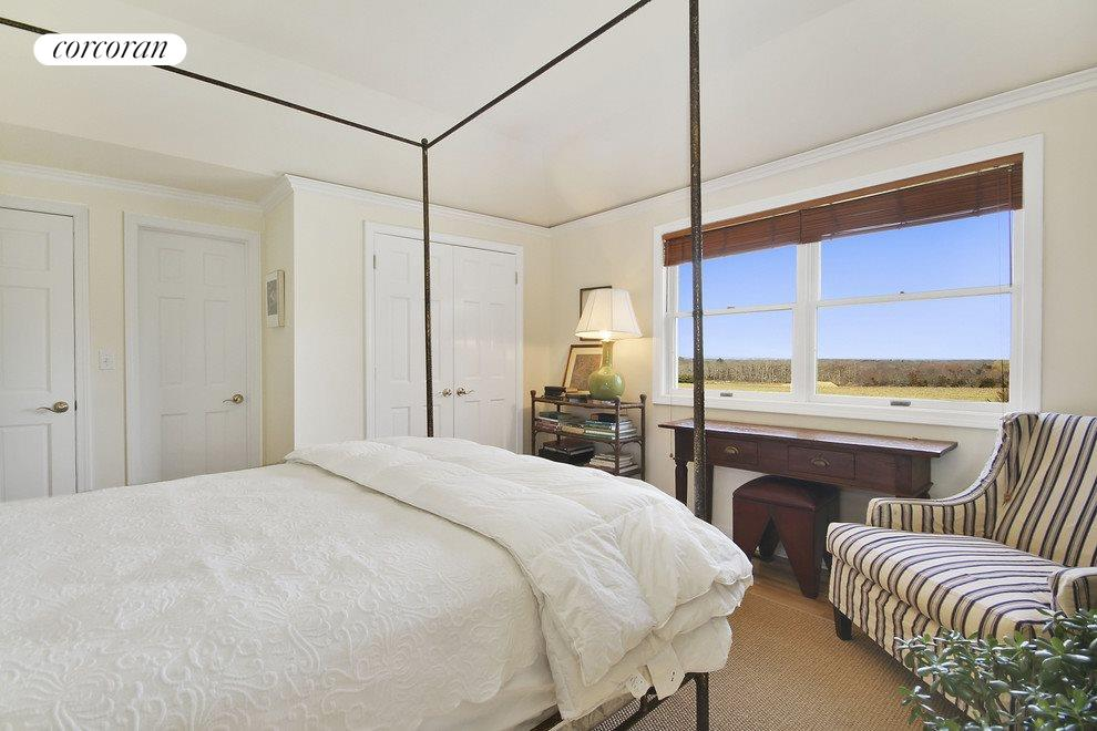 Master bedroom with lots of sky
