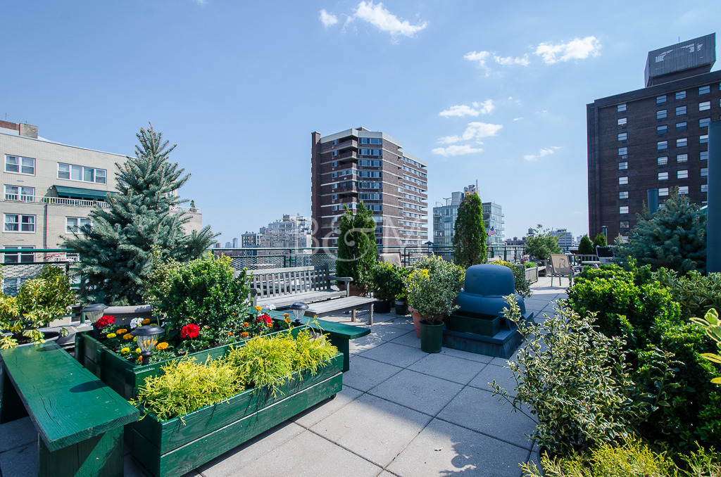 245 East 24th Street, 11E, Spacious south-facing living area