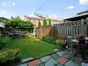 Large yard with room to garden and play