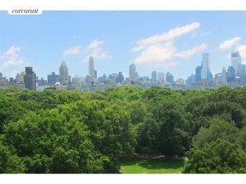 285 Central Park West, 8S, Actual view from the apartment