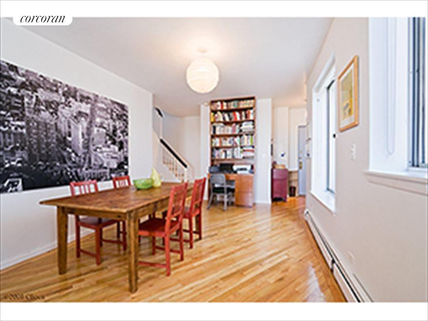 New York City Real Estate | View 115 Eastern Parkway, #6B | Dining area