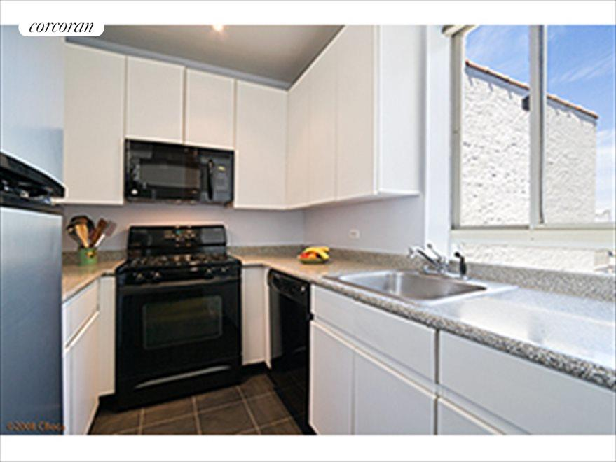 New York City Real Estate | View 115 Eastern Parkway, #6B | Windowed Kitchen