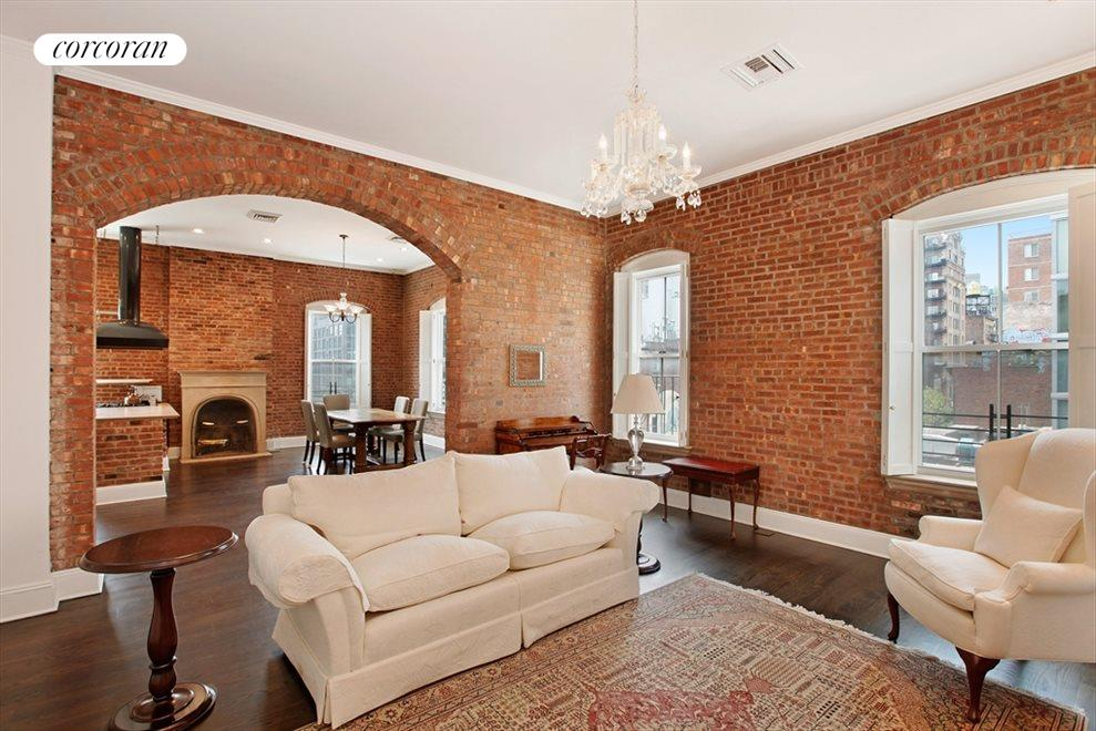 New York City Real Estate | View 203 East 13th Street, #PH4CD | 3 Beds, 3 Baths