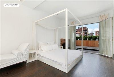 New York City Real Estate | View 203 East 13th Street, PH4CD | Master Bedroom