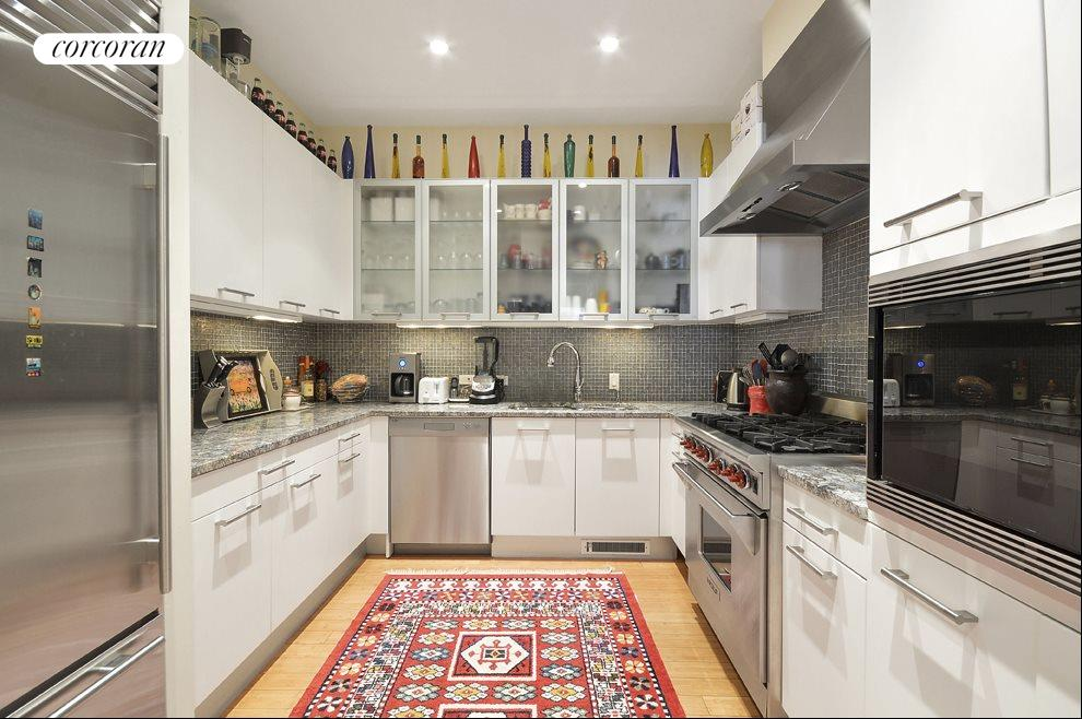 Separate Chief's galley kitchen