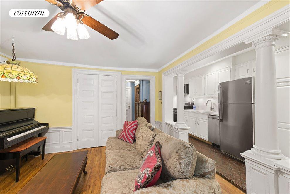 Living Room & New Kitchen