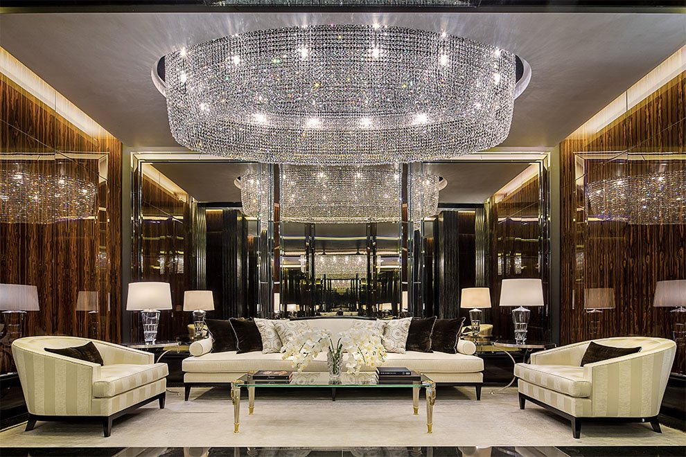 Private residential lobby