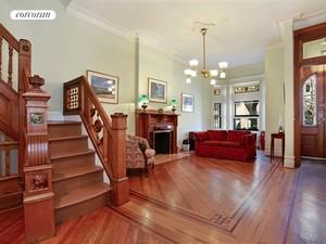 Parlor Floor with Center Staircase
