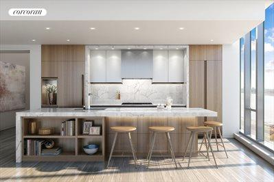 The Open Kitchen in Light Finish