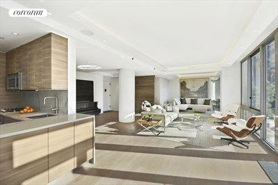 New York City Real Estate | View 225 West 60th Street, 6B | LivingKitchen