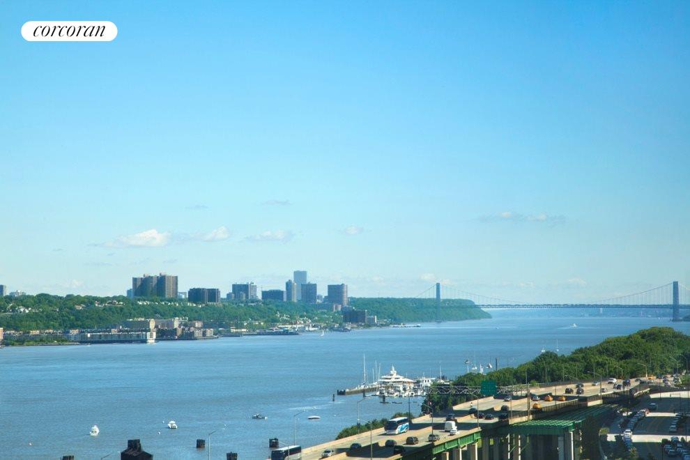 Expansive Hudson River Views