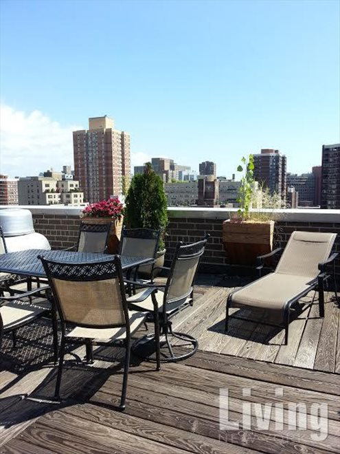The Crystal House Apartment Building | View 200 East 24th Street | Building Roof Deck