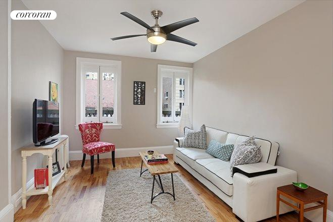 Corcoran 278 west 86th street apt 5a upper west side for Living room 86th st