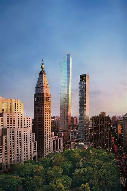 45 East 22nd Street, 51A, Striking glass silhouette rising 65 stories